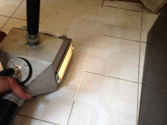 cleaning equipment for professional tile and grout cleaning